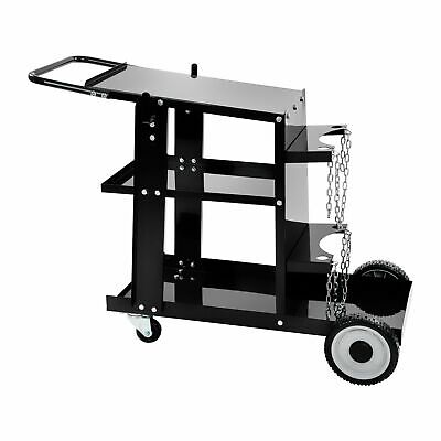 Welding Trolley Universal Mig Mag Plasma Tig Welder Cart Gas Bottles And Chains • 105£
