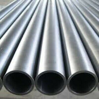 MILD STEEL SEAMLESS ROUND TUBE PIPE CDS 7.94mm To 50.8mm O/D 100mm To 500mm • 11.70£