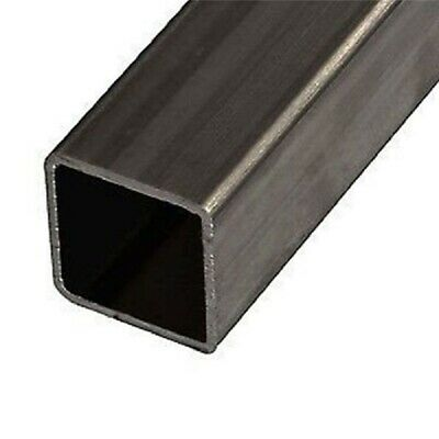 Mild Steel Box Section Square Tube 18 Sizes Lengths From 100mm To 1190mm • 9.90£