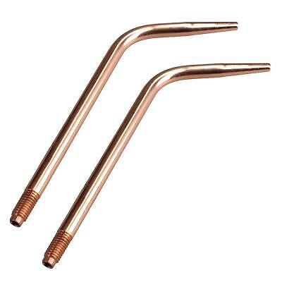 Lightweight Swaged Welding Brazing Nozzle No.13 Tip 5.0mm Oxy Acetylene 2pk • 6.99£
