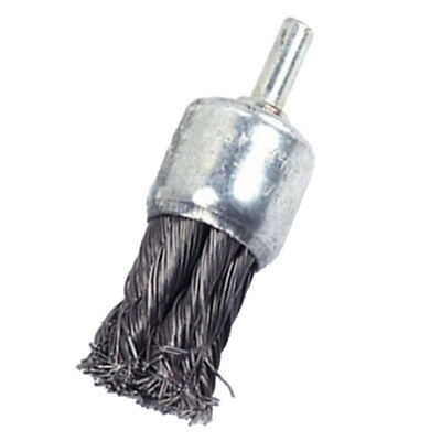 Steel Polishing Wire Brush Knot Wire End Brush Rust Paint Dust Remover 25mm • 5.20£
