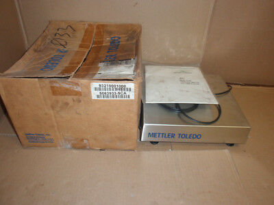MS025P000 Mettler Toledo NEW In Box Stainless Steel Weigh Scale In 93210001000 • 236.79£