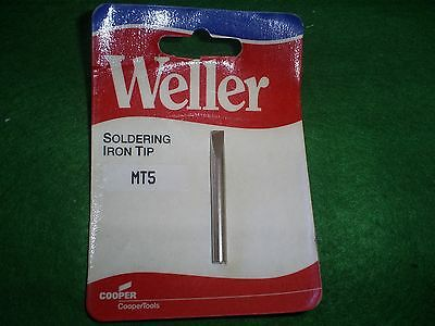 Weller Mt5 Replacement Soldering Iron  Chisel Tip Fits Iron S125 • 4.80£