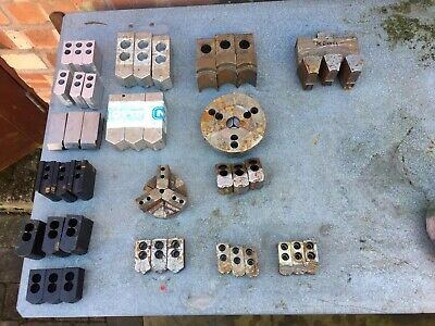 Job Lot Of 16 Sets Of CNC Lathe Jaws Some New Possibly Ikegai • 200£