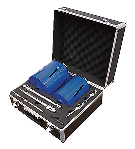 Mexco 8 Piece Dcxcel Slotted Dry Core Drill Kit • 119.99£