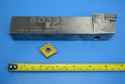 Kennametal Indexable Turning Toolholder 32mm X 25mm PCLNL 3225P19 F8KV25 • 12.74£