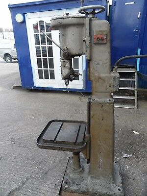 Pillar Drill. Pollard Turret Drill.  Six Drill Holder Turret. 8mm Drill Capacity • 475£