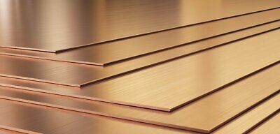 Copper Sheet Plate Guillotine Offcuts - 0.4mm To 3.0mm - Multiple Sizes • 7£