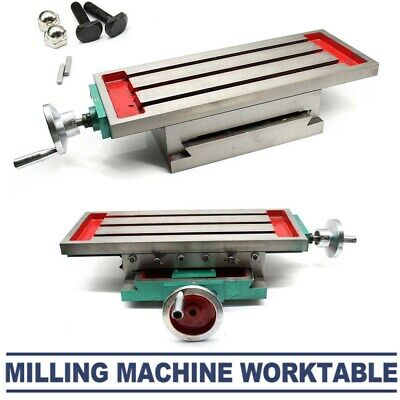 Precision Cross Milling Machine Compound 2 Axis 4 Ways Working Table 450*170mm • 90£
