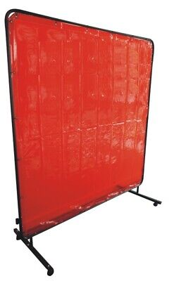 Portable Welding Screen - 1.8M X 1.8M (6FT X 6FT) Weldability • 85£