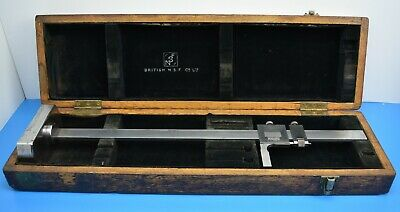 British N.S.F. Co. Ltd 18  Height Gauge / Vernier. Boxed • 42.99£