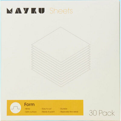 Mayku Form White 0.5mm HIPS Sheet - 30 Pack • 34.05£