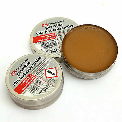 40G (2x 20g) /// New FLUX Soldering PASTE In The Tin For Electronics SMD Plumbin • 1.79£