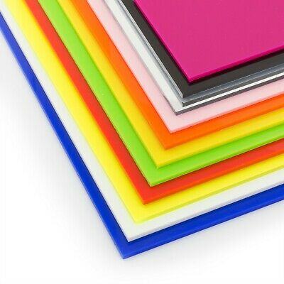 Acrylic Perspex Plastic Sheet Cut To Size 3mm A6 A5 A4 A3 Perspex Guard Screen • 12.99£