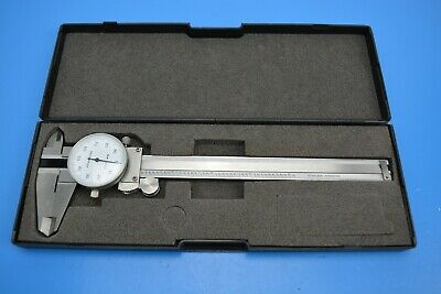 Imperial 6  Dial Caliper  - 0.01  Graduation. Stainless / Hardened. Cased • 12.49£