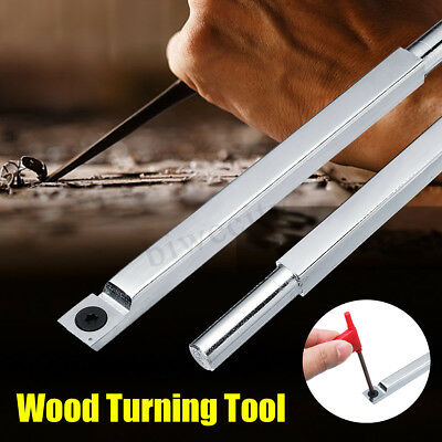 90HCR Wood Urning Ool Carbide Ip Chisel Square DIY Wood Craving Rotary • 79.99£