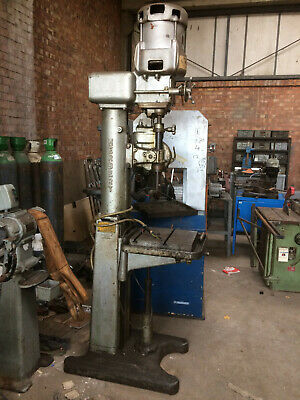Ref 15. Herbert Pedestal Drilling Machine. Ex BSA Works • 950£