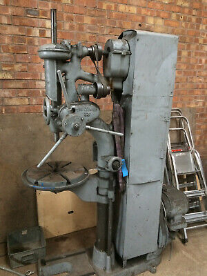 Ref 16. Denbigh Pedestal Drilling Machine.  Needs A Switch   • 300£