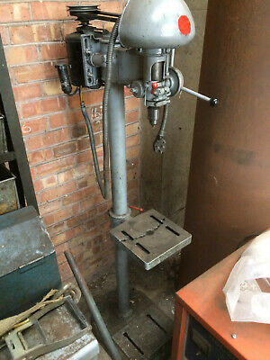 Ref 17. Pedestal Driller 230volt.  Possibly FOBCO.  No Guard.  Could Shorten • 195£