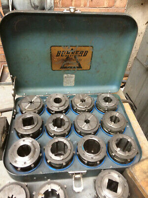 Ref 24. Burnerd Multisize EC Collet Set And Lathe Tooling Cabinet. All As Shown • 310£