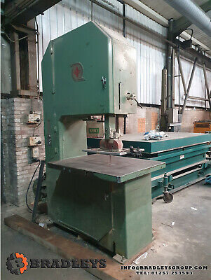 The Midsaw Hyspeed Vertical Band Saw 2.4m Heavy Duty, Large Bed Owned From New • 1,600£