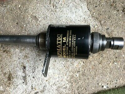 Tapmatic Model 1A M6 Capacity Self Rev. Good Condition Collets Extra • 145£