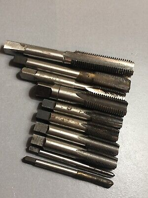 Job Lot Of 10 Used Taps Range Of Various Brands & Sizes. Mixed Imperial & Metric • 33£