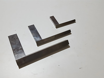 Stunning Set Of 3 Interesting User Made Engineers Squares 33351 • 97£