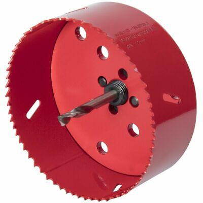 Wolfcraft Hole Saw 112mm Bi-Metal Red Drill Accessory Cutter Tool 5496000 • 32.48£
