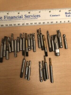 28 SMALL END MILLs • 10£