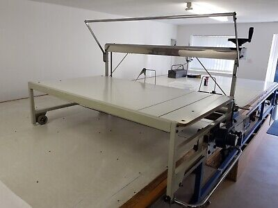Cloth Fabric Laying Up / Cutting Table Only • 900£