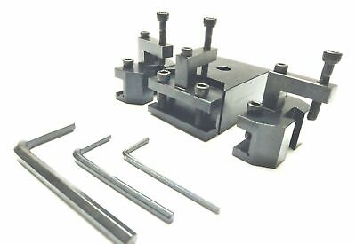 Quick Change Tool Post For CJ18A Series,C2C3 Mini Bench Engineering Lathes • 52.90£