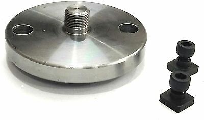 Tool Steel Quality Back Plate For Rotary Tables To Mount Chucks T- Nuts Bolt • 32.43£