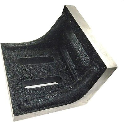 New Slotted Webbed Angle Plate- Stress RELIEVED HIGH Grain • 31.20£