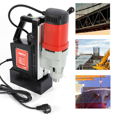 5-23mm 1400w Industrial Magnetic Boring Drilling Machine Core/spiral Drills 220v • 155.09£