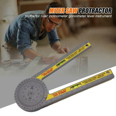 Miter Saw Protractor Angle Finder Square Level Blade Jig Hamme L6C0 • 14.50£
