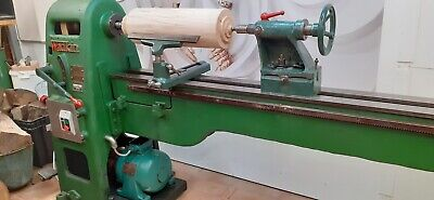 Wadkin Wood Lathe 12ft RS 240 Fully Working New Shaft And Belt Motor Serviced. • 1,980£