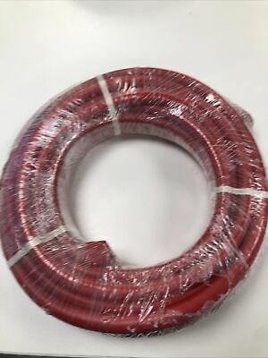 50mm2 Flexible PVC Battery Welding Cable Red 345 A Amps Copper Tube Lugs • 45£