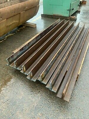 NEW Old Stock Steel Lengths T Section Beam Sleeper Supports Garden Wall • 12.99£