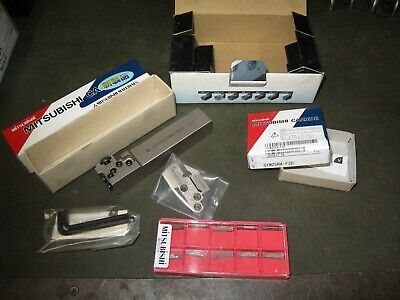 Mitsubishi Tri Force Grooving Kit New And Unused Carbide Tips • 50£