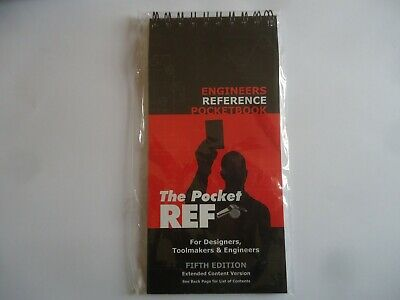 The Pocket Ref Engineering Reference Book - Thread Data Flip Chart • 5£