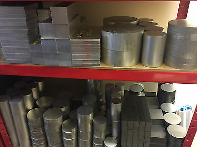 Various Sizes Of Aluminium Bar Billets 2'' 3.5'' 3'' 4'' + More! Engineering • 21.99£