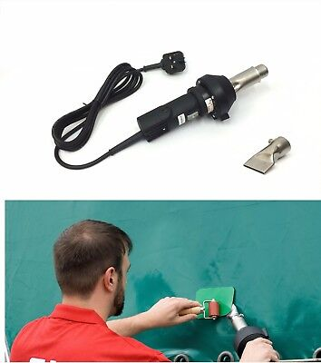 230v Forsthoff QL Hot Air Welding Tool/Gun PVC Tarpaulin Side Curtain Repair HGV • 274£