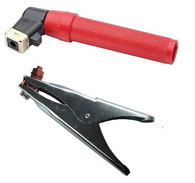 Electrode Holder And Earth Clamp Set - 400 Amp • 9£