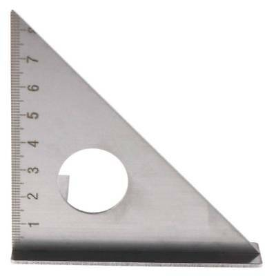 Woodworking Ruler Layout Square Miter Triangle Rafter 45° 90 Degree Metric Gauge • 11.43£