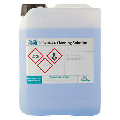Warton SCS-18-44 5L Surf Clean SCS-18-44 Saponification Cleaning Solution 5L • 86.49£