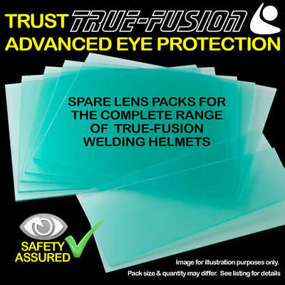 True Fusion Welding Helmet - Spare Lens Covers - Replacement Lenses • 2.50£