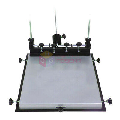 L Size Manual Solder Paste Printer Printing PCB SMT Stencil Printer 600x450mm • 159.99£