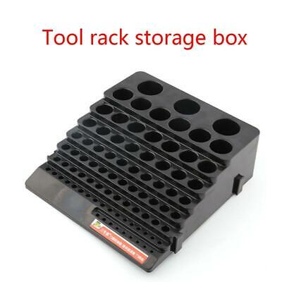 Black Drill Bit Storage Box Milling Cutter Drill Finishing Holder Organizer R • 9.24£