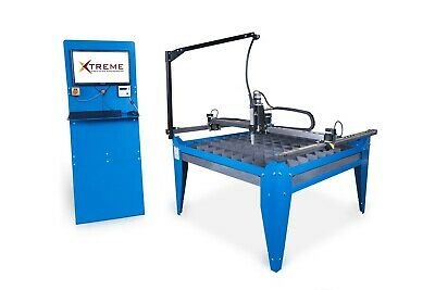 4x4 Cnc Complete Plasma Cutting Table & R-Tech P50 Plasma Cutter • 6,935.98£